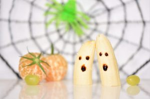 Blitzrezept: Bananen-Geister und Mandarinen-Kürbis