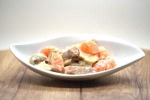 Blitzrezept: Leichter Geflügelsalat schnell zubereitet