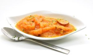 Möhren-Kartoffel-Eintopf mit Cabanossi