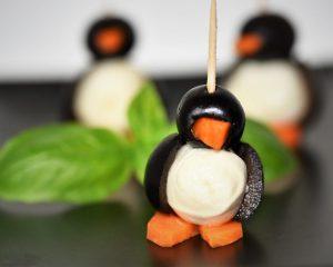 Herzhafte Pinguine – ein süßer Hingucker