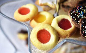 Plätzchen mit Fruchtgummi