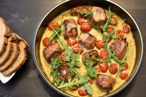 Schweinefilet-Medaillons in Curry-Rahmsauce