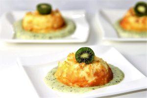 Quarkküchlein mit leckerer Nergi-Sauce