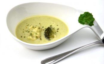 Blumenkohl-Brokkoli-Cremesuppe