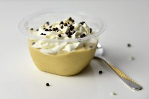 Persimon-Bananen-Dessert – halbgefrorenes Blitzrezept