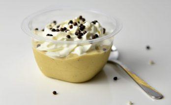 Persimon-Bananen-Dessert