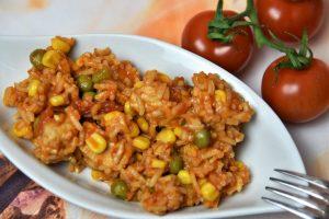 Serbisches Reisfleisch als Blitzrezept